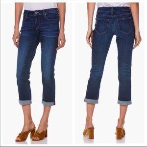 PAIGE | Brigitte Boyfriend Skinny Crop Jeans NWT